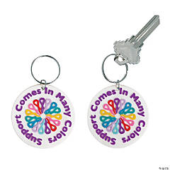 Cancer Awareness Key Chains