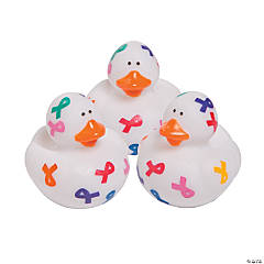 Cancer Awareness Rubber Duckies