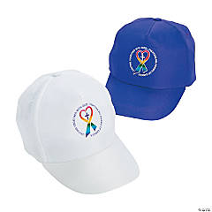 Cancer Awareness Walk in Faith Baseball Caps Assortment