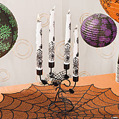 Candelabra & Spider Taper Candles
