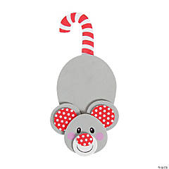 Candy Cane Mouse Ornament Craft Kit