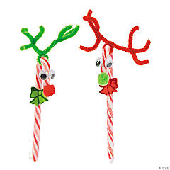 Candy Cane Reindeer Craft Kit