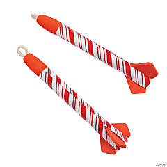 Candy Cane Rocket Flyers