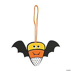 Candy Corn Bat Ornament Craft Kit