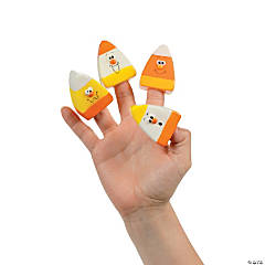 24 Candy Corn Finger Puppets