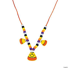 Candy Corn Necklace Craft Kit