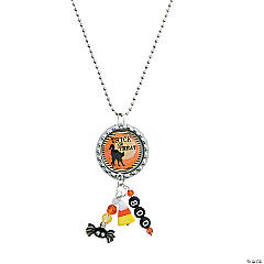 Candy Corn Necklace Idea