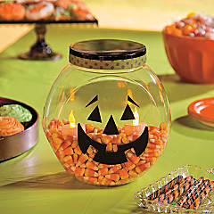 Candy Corn Pumpkin Kids Craft Idea