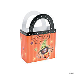 Candy Corn Spider Favor Box