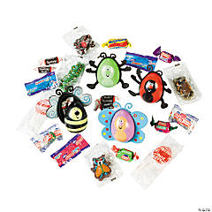 Candy-Filled Bug Plastic Easter Eggs