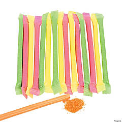 Candy-Filled Straws