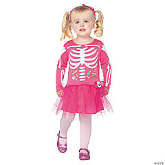 Candy Skeleton Girl's Costume