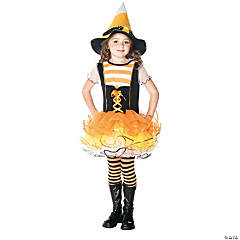 Candyland Witch Girl's Costume