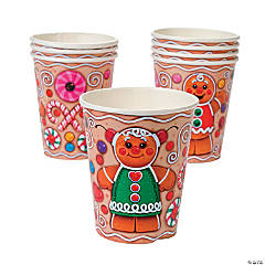 Candytown Paper Cups