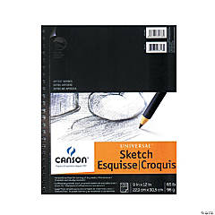 Canson Heavyweight Sketch Pad 9x12