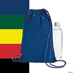 Canvas Drawstring Backpacks