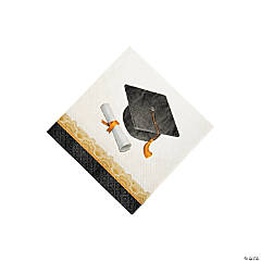 Cap & Gown Beverage Napkins