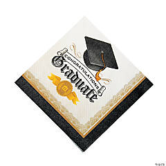 Cap & Gown Luncheon Napkins
