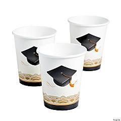 Cap & Gown Paper Cups