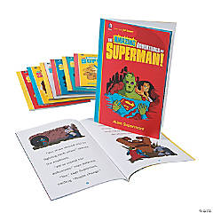 Capstone® The Amazing Adventures of Superman! Books - Set of 8