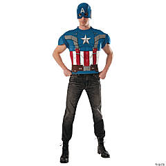 Captain America Costume for Men
