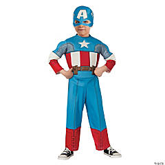 Captain America Costume for Toddler Boys