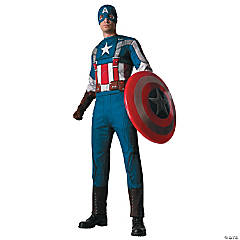Captain America Retro Costume for Men