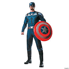 Captain America Stealth Costume for Men