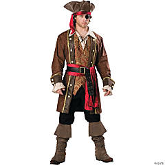 Captain Skullduggery Adult Men's Pirate Costume