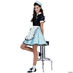 Car Hop Girl Adult Women's Costume