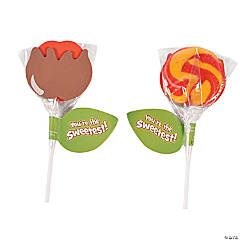 Caramel Apple Sucker Craft Kit