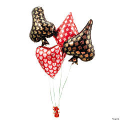 Card Suit Mylar Balloon Set