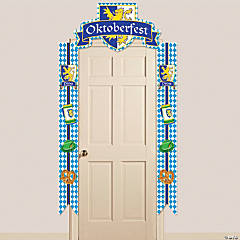 Cardboard Oktoberfest Door Border