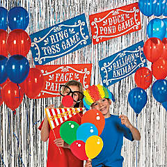 Carnival Fun Photo Booth Idea