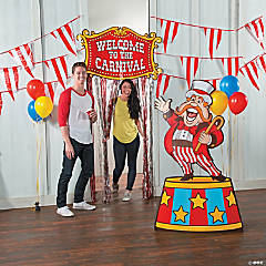 Carnival Inspiration Photo Booth Idea