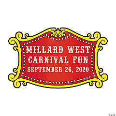 Carnival Personalized Stickers