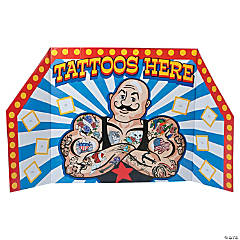 Carnival Tattoo Booth Cardboard Stand-up