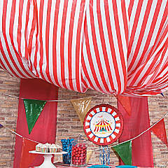 Carnival Tent Décor Idea  sc 1 st  Oriental Trading & Save on Carnival Party Decoration u0026 Favor Ideas | Oriental Trading