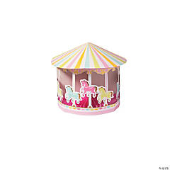 Carousel Baby Shower Centerpiece