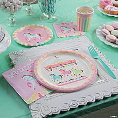 Carousel Baby Shower Supplies