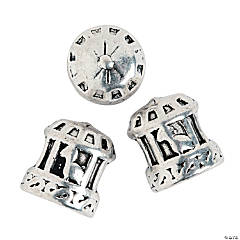 Carousel Large Hole Beads - 11mm
