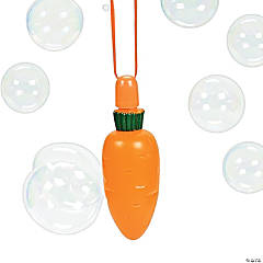 Carrot Bubble Bottle Necklaces