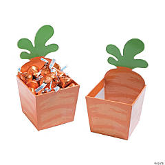 Carrot Cardboard Treat Containers