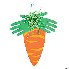 Carrot Handprint Craft Kit