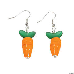 Carrot Lampwork Earrings Kit