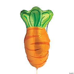 Carrot Mylar Balloons