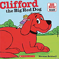 Carry Along Book & CD, Clifford the Big Red Dog