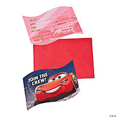 Cars 3™ Postcard Invitations