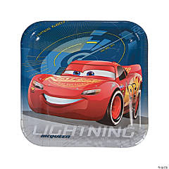 Cars 3™ Square Paper Dinner Plates