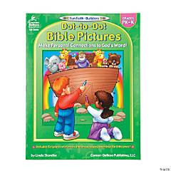 Carson-Dellosa™ Bible Dot-To-Dot Activity Book - Pre-K-K